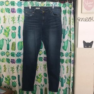 Size 14 Kut from the Kloth Toothpick Skinny Jeans